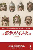 Sources for the History of Emotions PDF