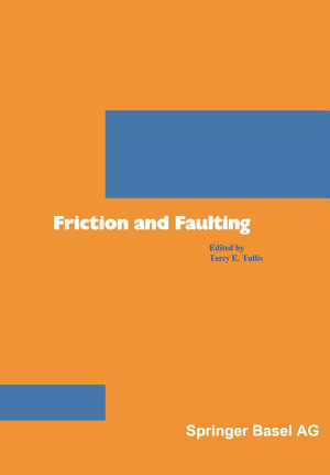 Friction and Faulting