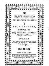 Breve tratado de reloges solares, y architectura