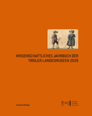 Wissenschaftliches Jahrbuch der Tiroler Landesmuseen 2019 PDF