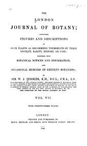 London Journal of Botany: Volume 7