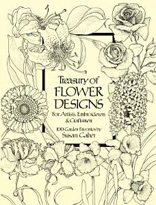 Treasury of Flower Designs for Artists  Embroiderers and Craftsmen PDF