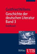 Geschichte der deutschen Literatur  Band 3 PDF