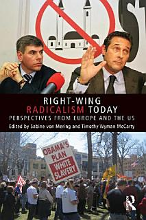 Right Wing Radicalism Today Book