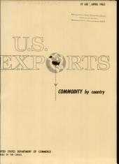 U.S. Exports: Commodity by country, Volume 3