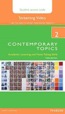 Contemporary Topics 2 Streaming Video Access Code Card PDF