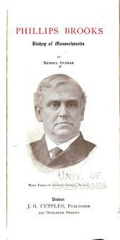 Phillips Brooks, Bishop of Massachusetts