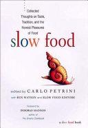 Slow Food PDF