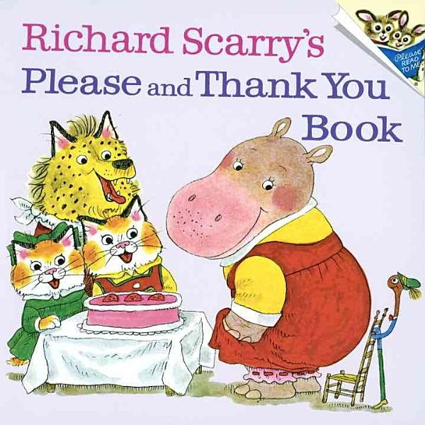 Download Richard Scarry s Please and Thank You Book Book