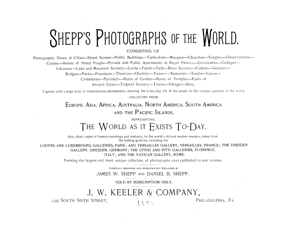 Shepp s Photographs of the World PDF