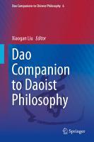 Dao Companion to Daoist Philosophy PDF