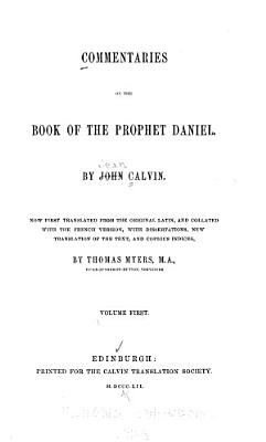 Commentaries on the Book of the Prophet Daniel PDF