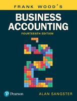 Frank Wood s Business Accounting Volume 2 PDF