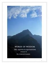 Words of Wisdom (Volume 43): 1001 Quotes & Quotations