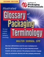 Illustrated Glossary of Packaging Terminology PDF
