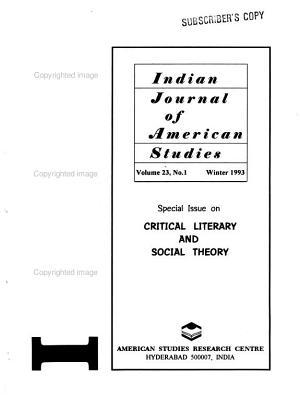 Indian Journal of American Studies PDF