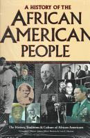 A History of the African American People PDF
