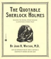 The Quotable Sherlock Holmes