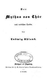 Der Mythus von Thôr nach nordischen Quellen