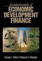 Fundamentals of Economic Development Finance PDF