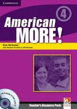 American More! Level 4 Teacher's Resource Pack with Testbuilder CD-ROM