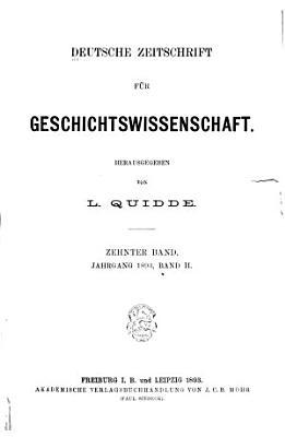 Deutsche Zeitschrift f  r Geschichtswissenschaft PDF