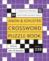 Simon and Schuster Crossword Puzzle PDF