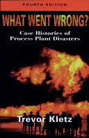 WHAT WENT WRONG? CASE HISTORIES OF PROCESS PLANT DISASTERS