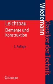 Leichtbau: Elemente und Konstruktion, Ausgabe 3