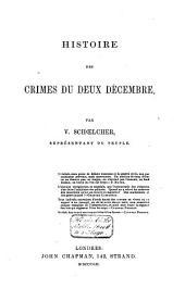 Histoire des crimes du deux décembre