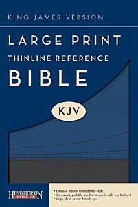 Thinline Reference Bible KJV Large Print Book