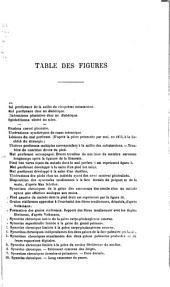 Leçons de clinique chirurgicale: Volume 3