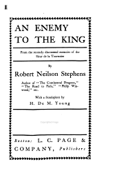 An Enemy to the King: From the Recently Discovered Memoirs of the Sieur de la Tournoire