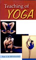 Teaching of Yoga PDF