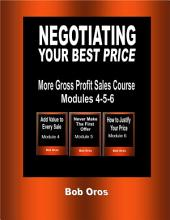 Negotiating Your Best Price
