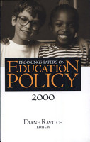 Brookings Papers on Education Policy  2000 PDF