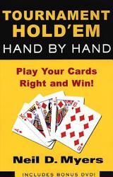 Tournament Hold Em Hand By Hand  Book PDF