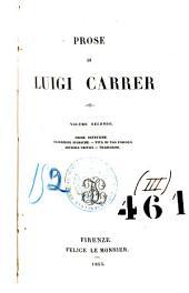 Opere scelte di Luigi Carrer: Volume 3