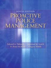 Proactive Police Management: Edition 9