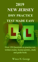 2019 New Jersey DMV Practice Test Made Easy