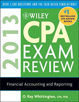 Wiley CPA Exam Review 2013  Financial Accounting and Reporting PDF