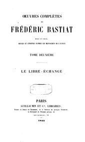Oeuvres complètes de Frédéric Bastiat: Volume2