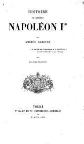 Histoire de l'empereur Napoléon Ier