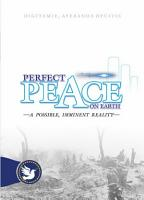 Perfect Peace on Earth   A possible  imminent Reality PDF