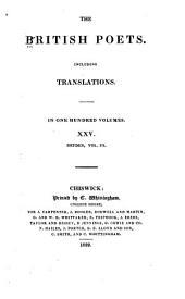 The Poems of John Dryden: Volume 3
