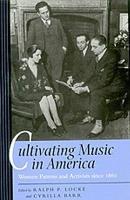 Cultivating Music in America PDF