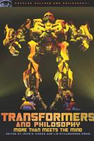 Transformers and Philosophy PDF