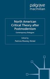 North American Critical Theory After Postmodernism: Contemporary Dialogues