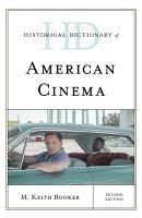 Historical Dictionary of American Cinema PDF