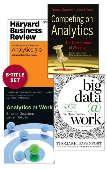 Analytics and Big Data  The Davenport Collection  6 Items  PDF